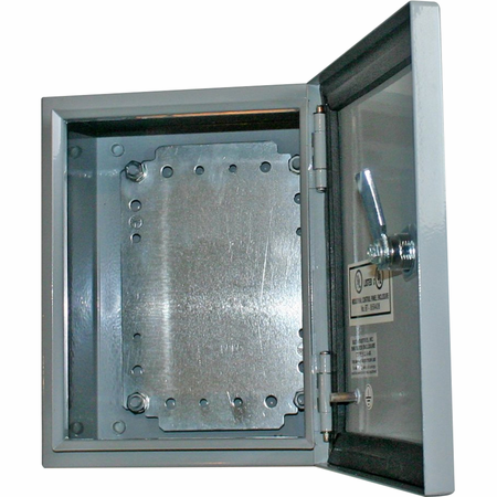 Bud Industries SNB-3749 - NEMA 4X Enclosures-SNB series-NEMA 4X Sheet Metal Boxes-L20 X W20 X D12