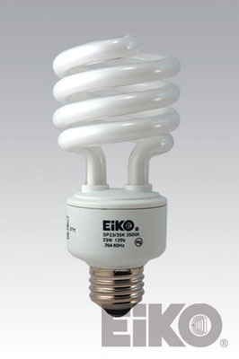 Eiko SP23/41K 23W 120V 4100K Spiral Shaped - Cfli