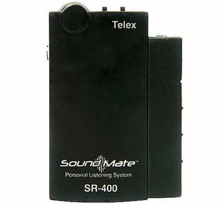 Electro-Voice SR-400 WIRELESS ASSISTED LISTENING Components