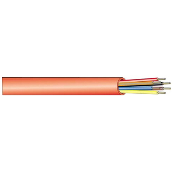 West Penn Wire 982RD1000 - 4 Cond 18 Solid Bare Fplr