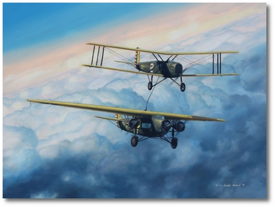 150 Hours by Darby Perrin (Fokker C-2A, Douglas C-1)