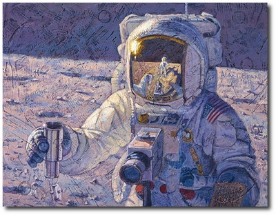 A New Frontier by Alan Bean  (Apollo)