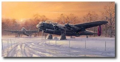 A Winter's Dawn by Philip West (Lancaster)