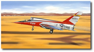 AB to Go, Stick on the Side by Mike Machat (F-107)