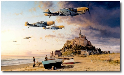 Aces on the Western Front by Robert Taylor (Me109)