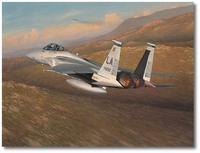 Advantage Eagle by William Phillips (F-15)