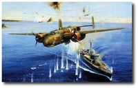 Air Apaches on the Warpath by Robert Taylor (B-25)