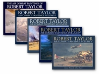 Air Combat Paintings by Robert Taylor 5-Book Set