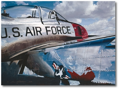 Air Force Reflections by William S. Phillips (T-28 Trojan)