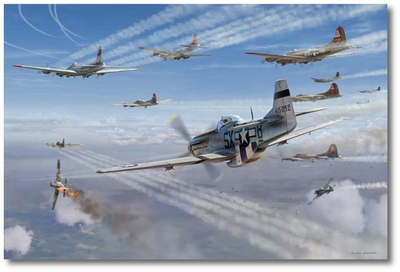 Alabama Rammer Jammer by Jim Laurier (P-51 Mustang)