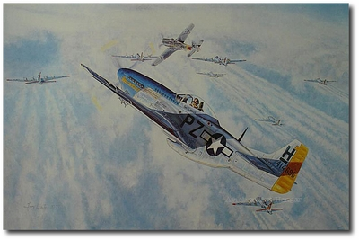 All the Way by Troy White (P-51 Mustang)