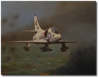 Alpha Strike by Robert D. Fiacco (A-4 Skyhawk)