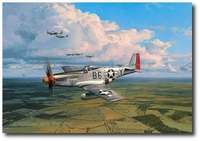American Eagles by Robert Taylor (P-51 Mustang)