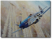 American Patrol by Troy White (P-51 Mustang)