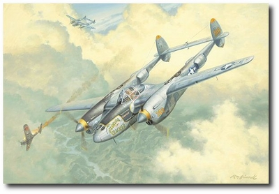 """and the Oscar goes to ""Florida Cracker"""" by Roy Grinnell (P-38 Lightning)"