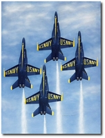 Angels Ascending to Heaven by Darrell White (F-18 Hornet)