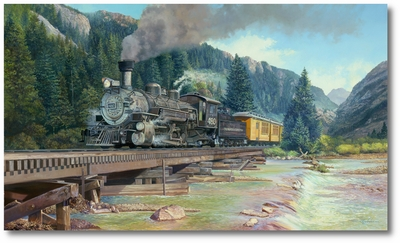 Animas Crossing: Making Steam for Silverton by Rick Herter