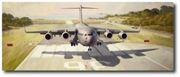 Anything, Anytime, Anywhere by Keith Ferris (C-17)