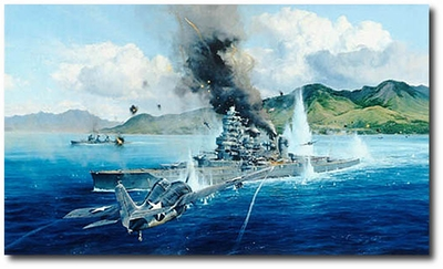 Attack on the Hiei by Robert Taylor (Secondary)