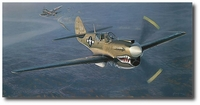 Into the Teeth of the Tiger by William S. Phillips (P-40)