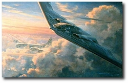 Legacy by Ronald Wong (B-2 and B-29)