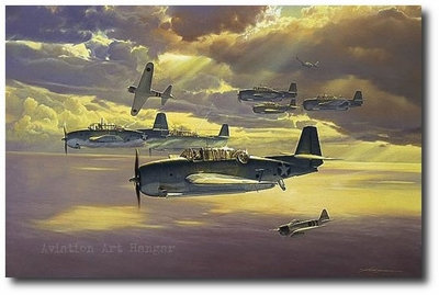 Only One Survived by Craig Kodera (TBF Avenger)