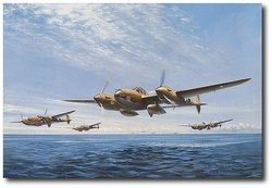 Search for the Needle by John Young (P-38 Lightning)