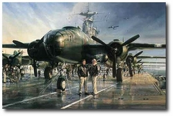 The Hornet's Nest by John Shaw (B-25 Mitchell)