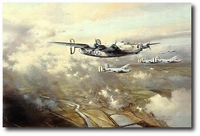 Welcome Sight by Robert Taylor (B-24 Liberator)