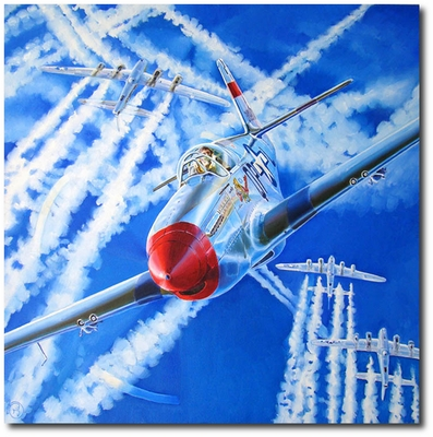 Azul Vivo! by Troy White (P-51 Mustang)