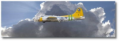B-17 Flying Fortress by Larry McManus