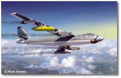 B-47E Stratojet by Mark Karvon