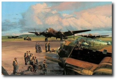 Band of Brothers by Robert Taylor (Lancaster)