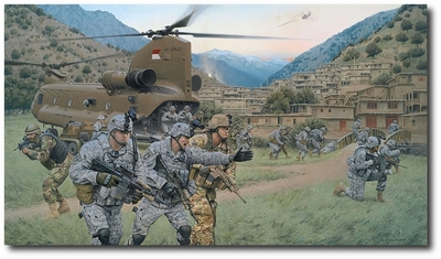 Bastogne Rendezvous - Battle of the Valleys by Larry Selman (Chinook)