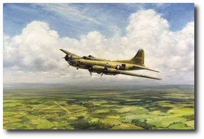 Belle...Homeward Bound by John Young (B-17)