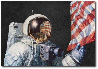 Beyond a Young Boy's Dream by Alan Bean  (Apollo)