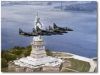 Bicentennial Salute by R.G. Smith (A-4 Skyhawk)