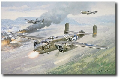 Big Bang in Burma by Roy Grinnell (B-25 Mitchell)