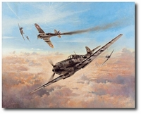 Birth of a Fighter Legend by Heinz Krebs (Me109)