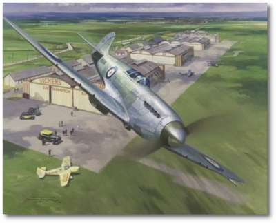 Birth of a Legend by Michael Turner (Spitfire)