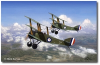 Black Flight Triplanes by Mark Karvon (Sopwith)