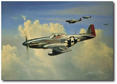 Blue Nose! by Richard Taylor (P-51 Mustang)