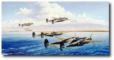 Bogeys Eleven O'Clock High by Robert Taylor (P-38)