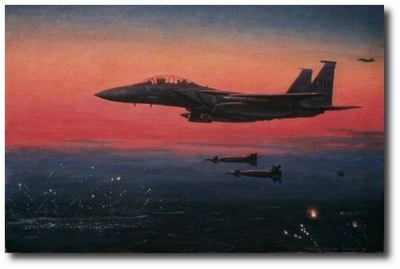 Bolars Over Belgrade by Ronald Wong (F-15)