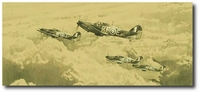 Bold, Reckless and Supreme by Robert Taylor (Hawker Hurricane)