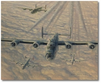 'Bout to Happen by Darby Perrin (B-24 Liberator)