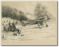 Breaking Cover by Robert Taylor (Fw190)