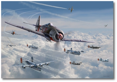 Bretschneider's End by Jim Laurier (Fw190)