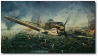 By the Dawn's Early Light by John Shaw (AVG P-40)