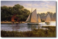 By the Old Boat House by Don Demers